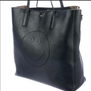 Smiley Tote Bag Anya Hindmarch